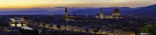 italia florencia latoscana 100v10f italy 1500v60f nikon d7000 florence sunset panorama