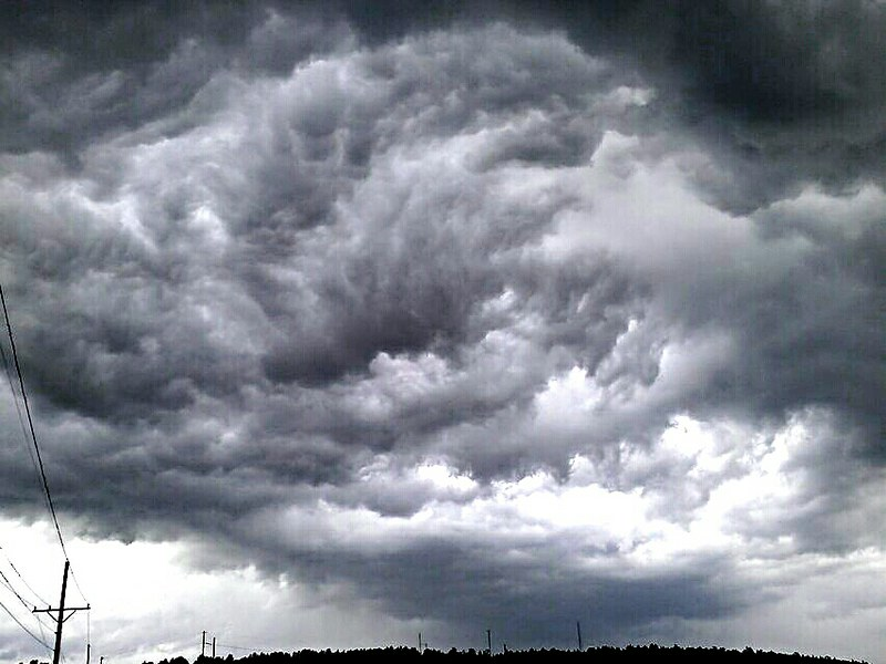 Stratocumulus Mammatus Stratiformis On The Back Of A Storm Flickr