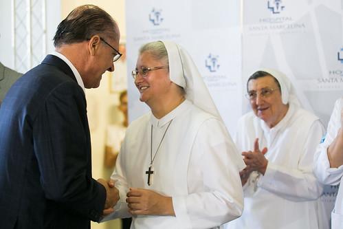 Alckmin libera mais R$ 25 milhões extras para ajudar o Santa Marcelina | by Governo do Estado de São Paulo