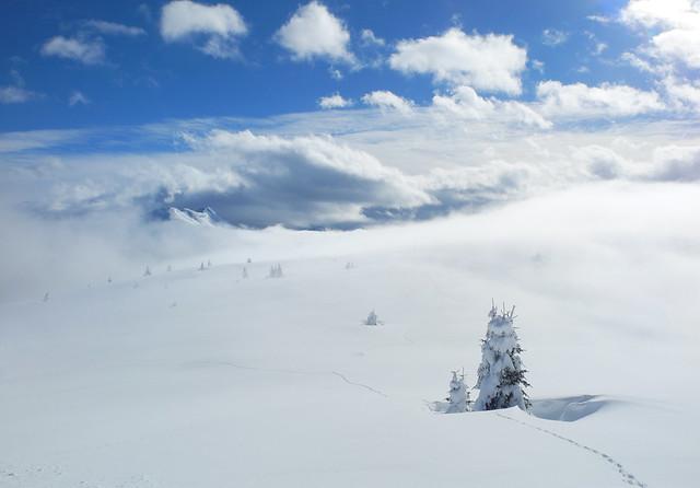 Dolomite winter