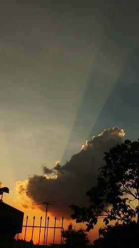 sunset sky orange samsung rizal antipolo gc100 flickrandroidapp:filter=none samsunggalaxycamera loresexecutive