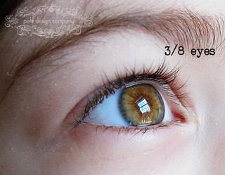 3-8 eyes | by Petit Design Co.
