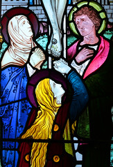 Blessed Virgin, Mary Magdalene and St John at the foot of the Cross