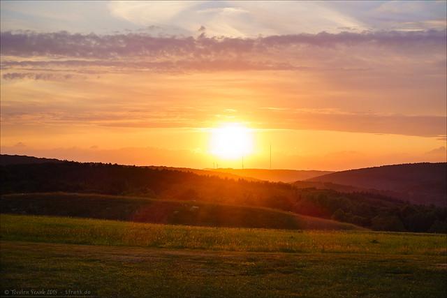Sender Sunset
