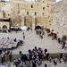 Jeruzalém, Zeď nářků z mostku na Chrámovou horu, foto: Luděk Wellner