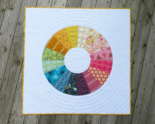 voile color wheel quilt | by teaginny