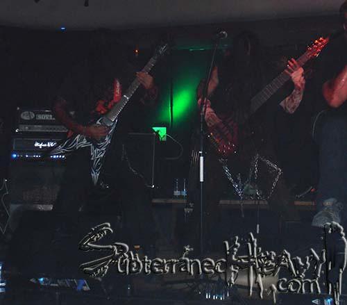 Mass Burial + Eternal Storm + Abyfs, Madrid