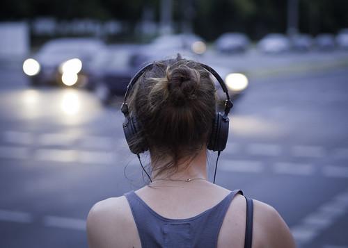 Woman with Headphone   by kohlmann.sascha