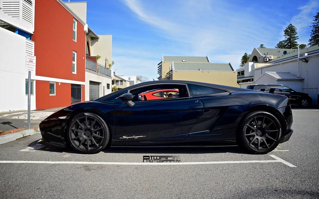 Lamborghini Gallardo Superleggera Blacked Out Twang Photography