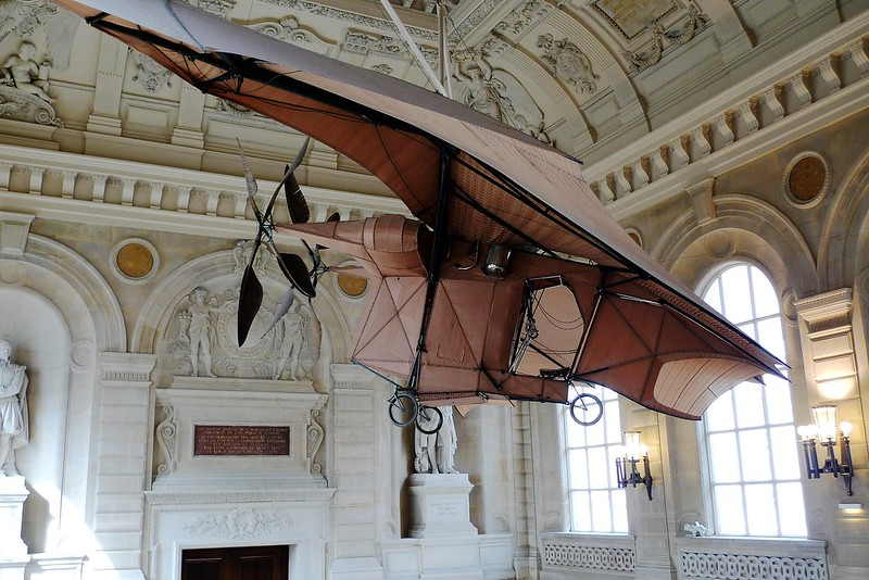 Ader Avion III. Musée des Arts et Métiers