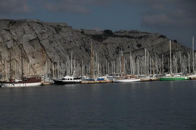 Le port des îles du Frioul