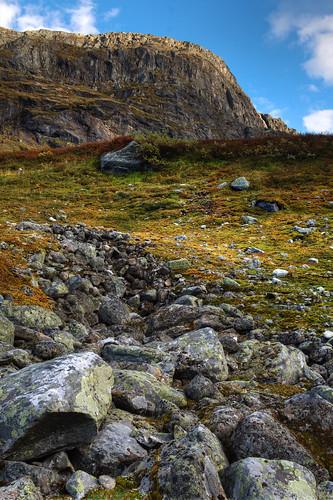 cliff norway rock alpine hdr tundra krossbu breidsæterdalen nufsgrøvan
