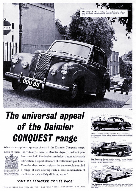 Daimler, The Choice of the British Monarchy