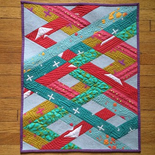Eye Candy Quilts' Original Alison Glass Mini Quilt Swap
