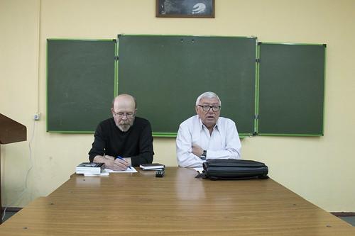 Сен 22 2015 - 11:08 - Встречи с В.В.Есиповым и Юрием Кублановским