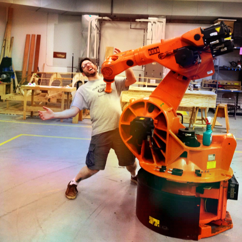 Local Man Maimed by Giant Industrial Robot Arm | (Sorry, cou… | Flickr