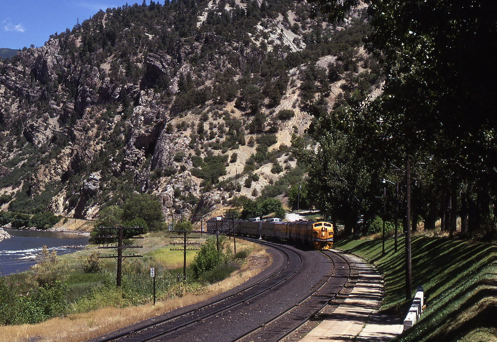 Denver & Rio Grande Western, Glenwood Springs, Colorado