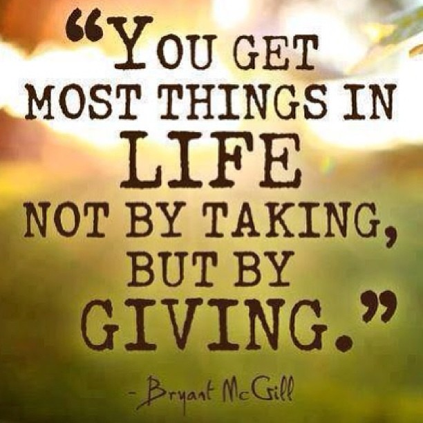 Image result for taking in the giving