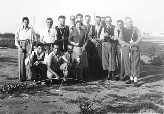 Maroc, 1950, 1ère Compagnie des compagnons de l'arc