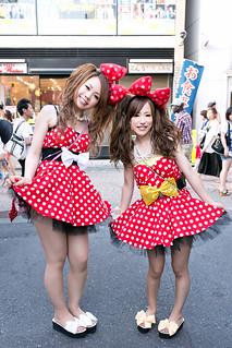 Minnie Mouse Girls, Harajuku