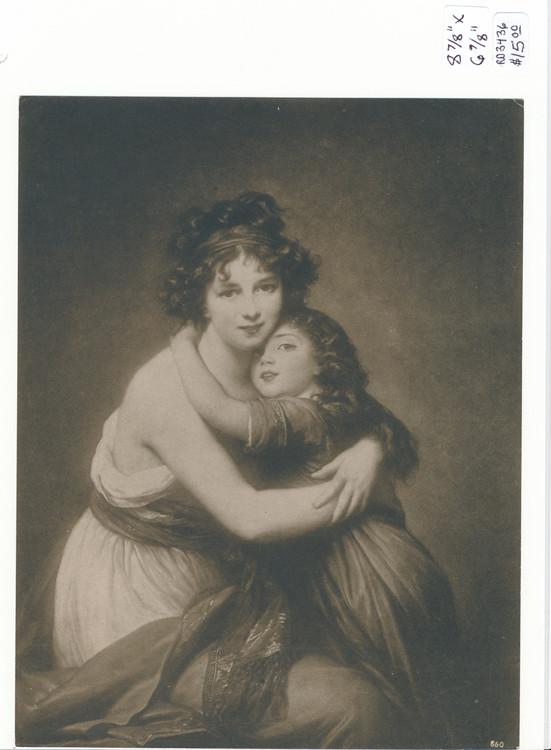 RD3436 Madame Vigee-Le Brun et sa fille
