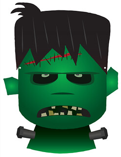 Frankenstein Mask | by All About Party Bags
