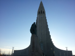 This is the biggest thing in Reykjavik. It's called the Hallgrimskirkja. | by Mike Boon