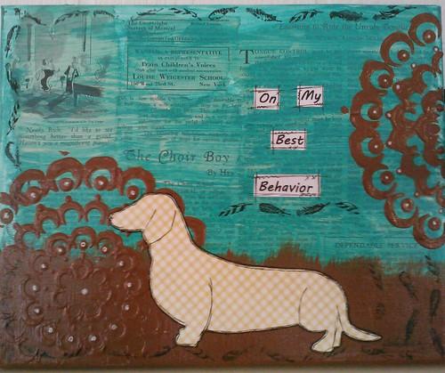 On My Best Behavior - Jan Seawell-Reckers | by JanCari