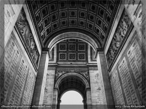 The Arc de Triomphe de l'Étoile | by siliconchef