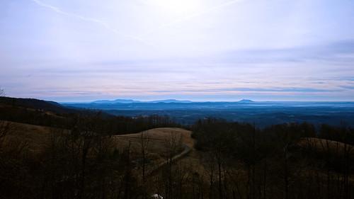 morning sunrise landscape virginia panoramic va fancygap