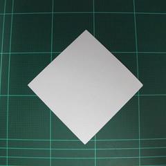 วิธีพับกระดาษเป็นรูปลูกสุนัข (แบบใช้กระดาษสองแผ่น) (Origami Dog) 003