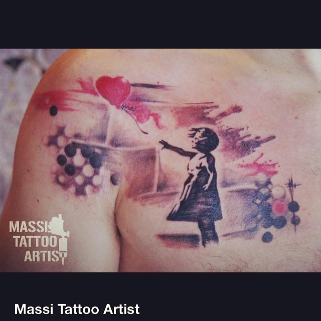 12856179883 8e0307e387 z - Trash Polka Tattoo Art