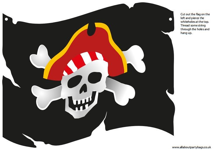picture regarding Pirate Flag Printable identify Pirate flag printable Print out decoration. You should credit history