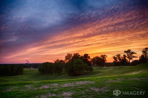 ky kentucky owensboro sunset golfcourse landscape rural skyline thepearlclub thesummit
