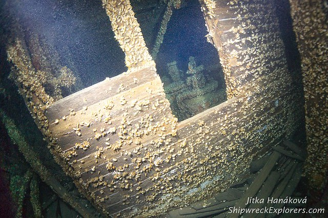 Vernon Shipwreck Photo By; Jitka Hanakova
