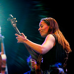 Sun, 19/07/2015 - 2:48pm - Rhiannon Giddens is joined by the Carolina Chocolate Drops at Prospect Park, July 18, 2015. Broadcast live on WFUV Public Radio. Photo by Gus Philippas/WFUV