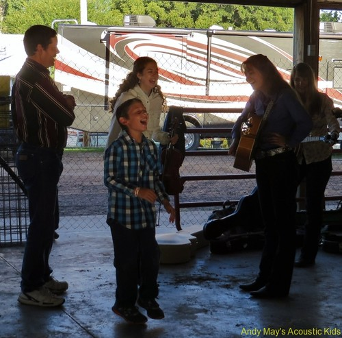 2015 Walnut Valley Fest Acoustic Kids - Saturday | by Andy-May