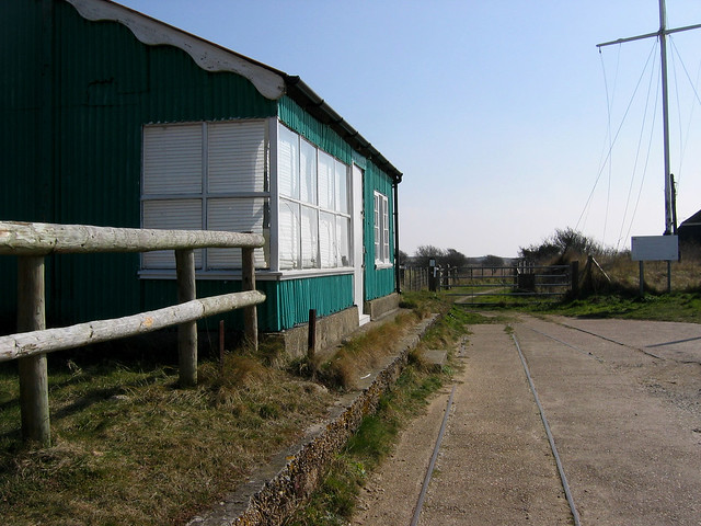 Golf Links station on the old Rye and Camber tramway