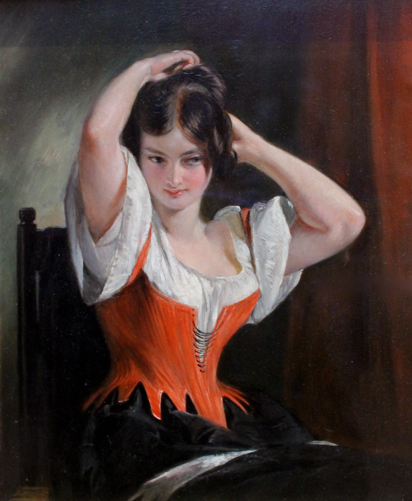 Dulcinea Del Toboso Oil On Canvas 1839 American Charles R Flickr