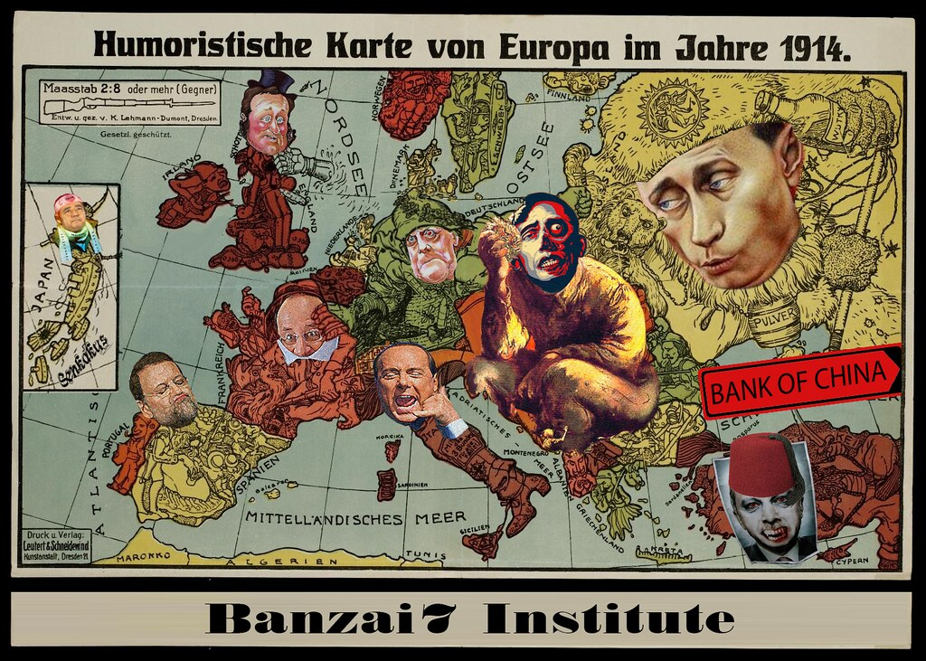 Karte Von Europa 1914.Karte Von Europa 1914 Williambanzai7 Colonel Flick Flickr