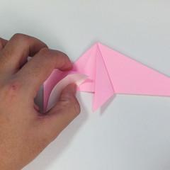 สอนการพับกระดาษเป็นลูกสุนัขชเนาเซอร์ (Origami Schnauzer Puppy) 043