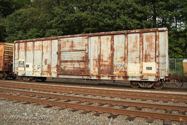 Corinth & Counce Box Car at Woodbourne, PA