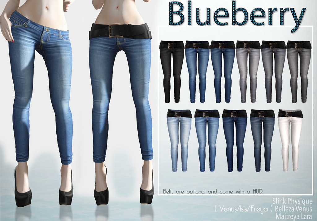 0755b8e66c5b Blueberry Rica Skinny Jeans | Hi ladies. The belted jeans ar… | Flickr