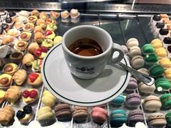 Espresso at Caffe Pedrocchi