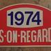 Press On Regardless 1974 Rally