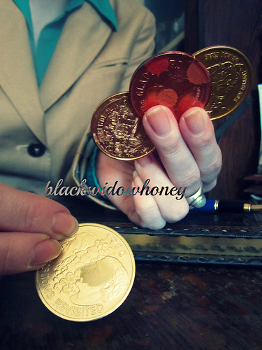Four of Coins 5.2 | by BlackWidowHoney
