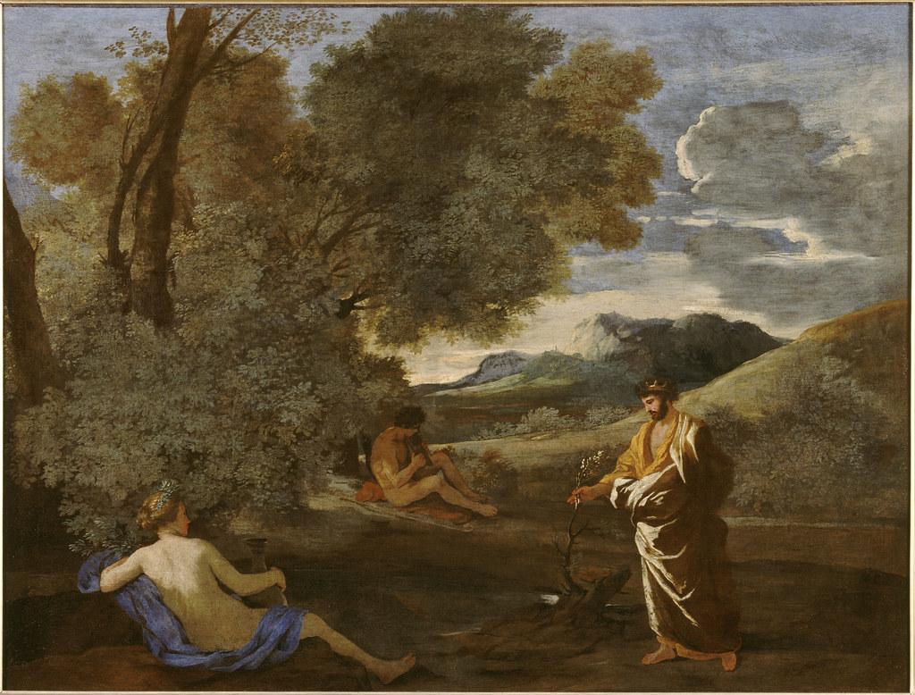 +1631 Numa Pompilio y la ninfa Egeria