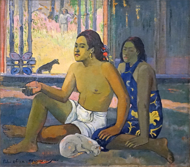 Eiha ohipa de Paul Gauguin (Fondation Louis Vuitton, Paris)
