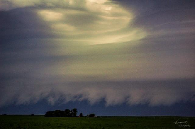 071011 - Classic Nebraska Shelf Cloud