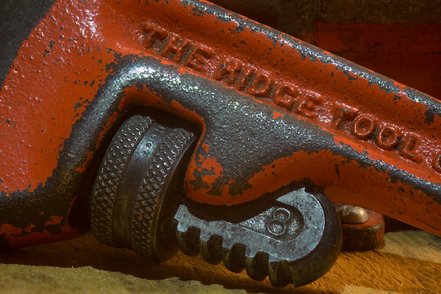 Monkey Wrench, Macro Mondays, Made of metal